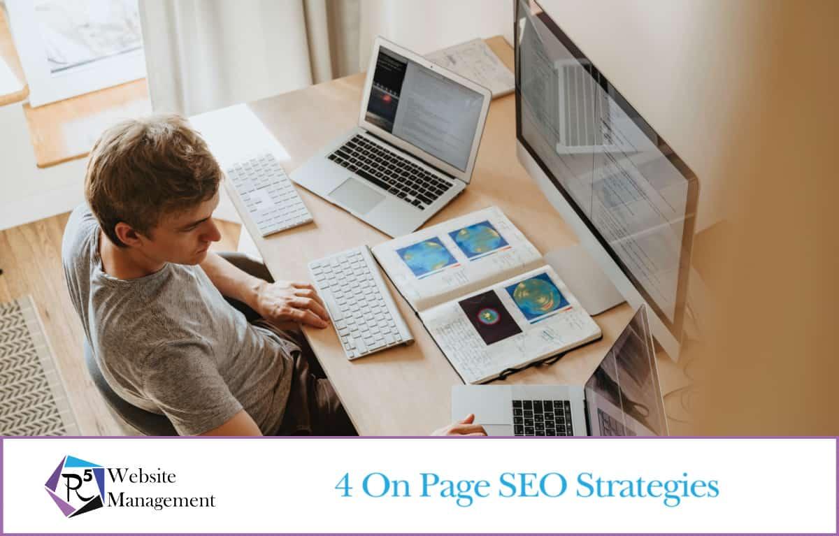 4 SEO Strategies